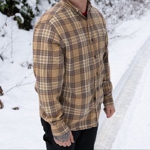 WOOLRICH men's button up flannel size large
